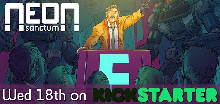 Neon-Sanctum-Kickstarter