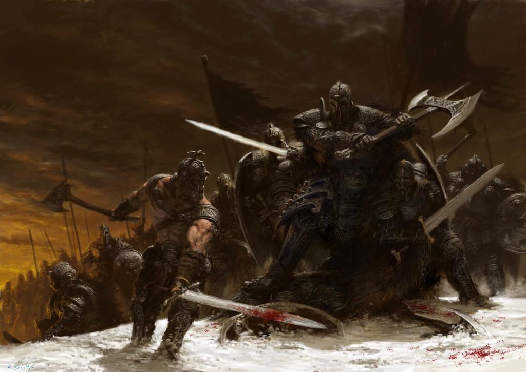 fantasy-battle-art