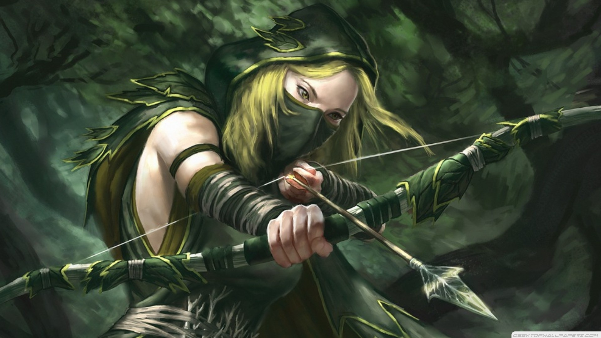 green-arrow-girl