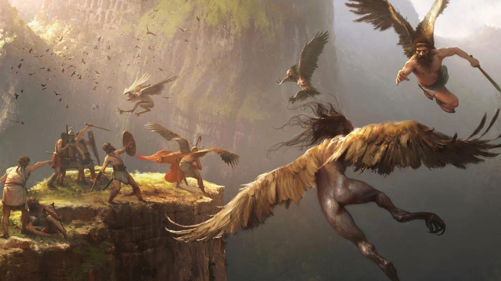 harpies-fantasy